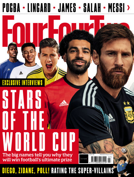 FourFourTwo June 06, 2018 00:00