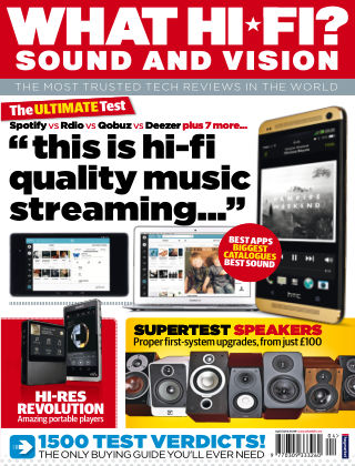 What Hi-Fi? Sound and Vision April 2014