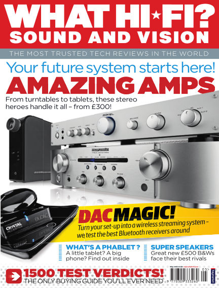 What Hi-Fi? Sound and Vision April 09, 2014 00:00