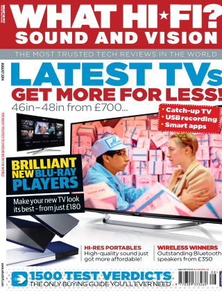 What Hi-Fi? Sound and Vision August 2014
