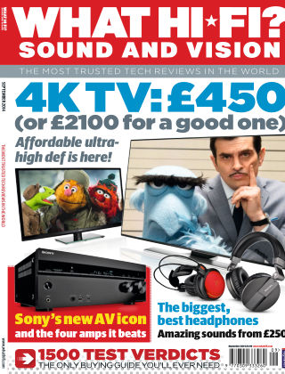 What Hi-Fi? Sound and Vision September 2014