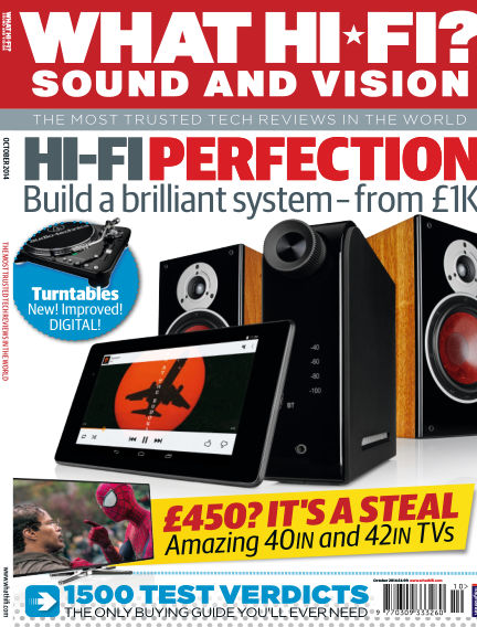 What Hi-Fi? Sound and Vision August 27, 2014 00:00