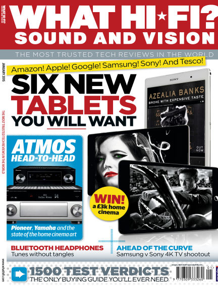 What Hi-Fi? Sound and Vision December 17, 2014 00:00