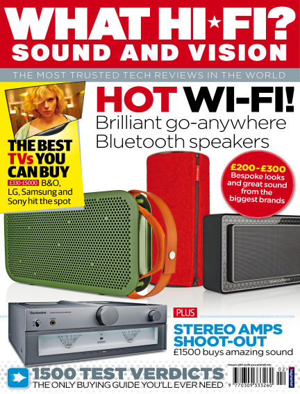 What Hi-Fi? Sound and Vision January 14, 2015 00:00