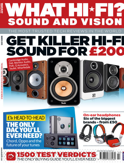 What Hi-Fi? Sound and Vision February 11, 2015 00:00