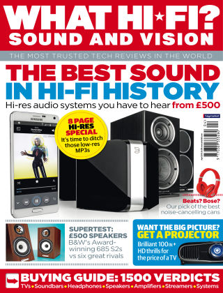 What Hi-Fi? Sound and Vision April 2015