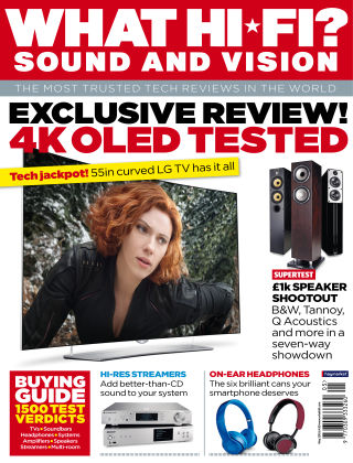 What Hi-Fi? Sound and Vision May 2015