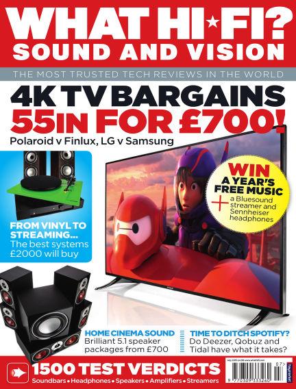 What Hi-Fi? Sound and Vision June 03, 2015 00:00