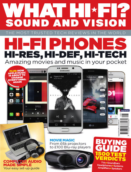 What Hi-Fi? Sound and Vision July 01, 2015 00:00