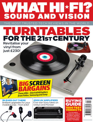 What Hi-Fi? Sound and Vision September 2015
