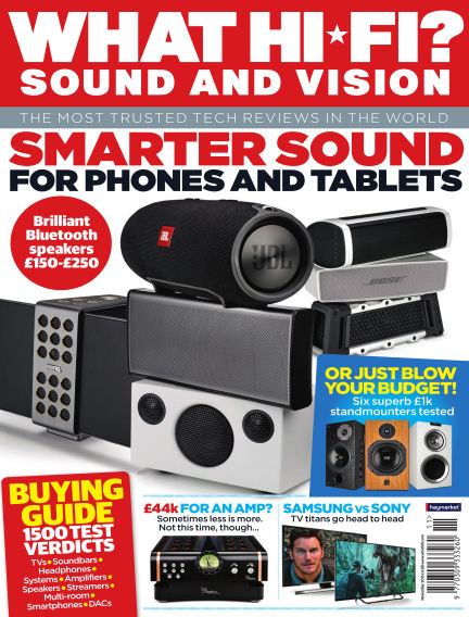 What Hi-Fi? Sound and Vision September 23, 2015 00:00