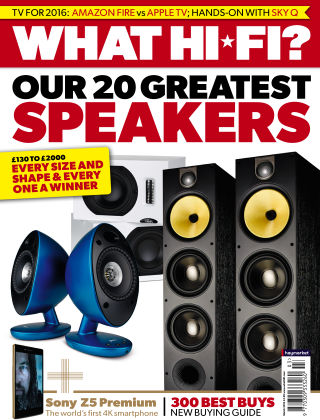What Hi-Fi? Sound and Vision March 2016