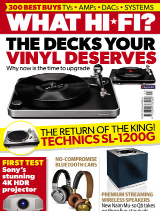 What Hi-Fi? Sound and Vision April 2016