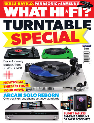 What Hi-Fi? Sound and Vision August 2016