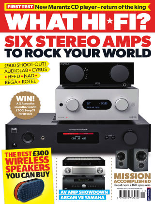 What Hi-Fi? Sound and Vision November 2016