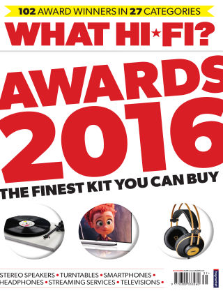 What Hi-Fi? Sound and Vision Awards 2016