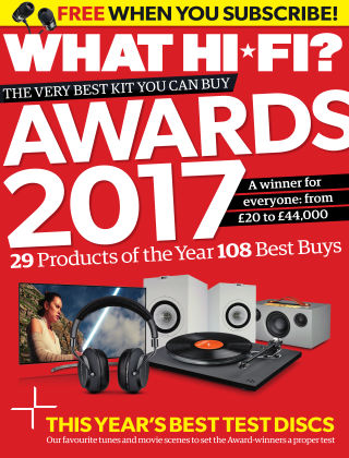 What Hi-Fi? Sound and Vision Awards 2017