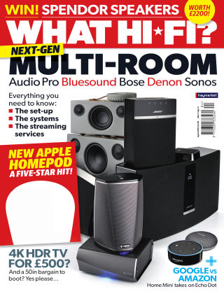 What Hi-Fi? Sound and Vision April 2018