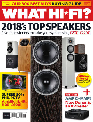 What Hi-Fi? Sound and Vision August 2018