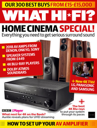What Hi-Fi? Sound and Vision October 2018