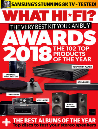 What Hi-Fi? Sound and Vision Awards 2018