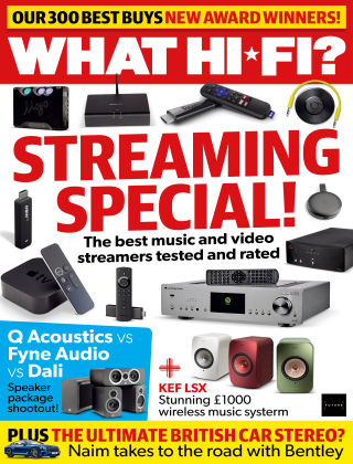 What Hi-Fi? Sound and Vision Jan 2019