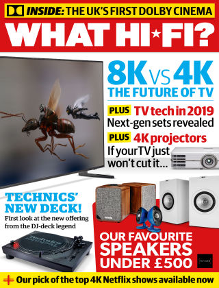 What Hi-Fi? Sound and Vision March 2019