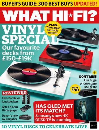 What Hi-Fi? Sound and Vision May 2019