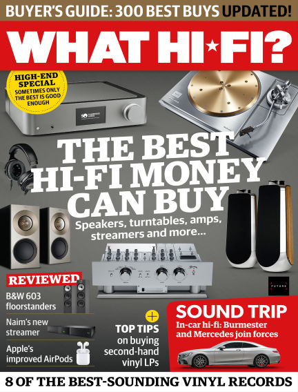 What Hi-Fi? Sound and Vision May 01, 2019 00:00