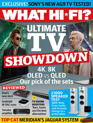 What Hi-Fi? Sound and Vision August 2019