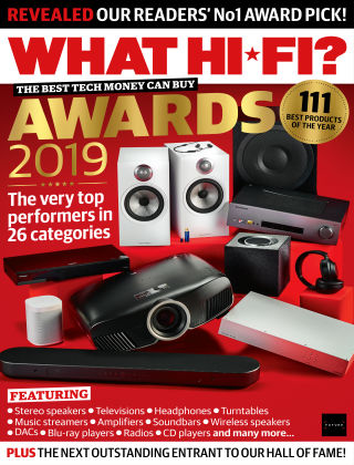 What Hi-Fi? Sound and Vision Awards 2019