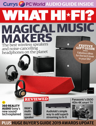 What Hi-Fi? Sound and Vision January 2019