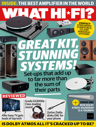 What Hi-Fi? Sound and Vision August 2020
