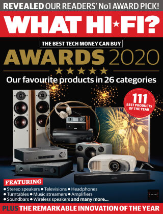 What Hi-Fi? Sound and Vision Awards 2020