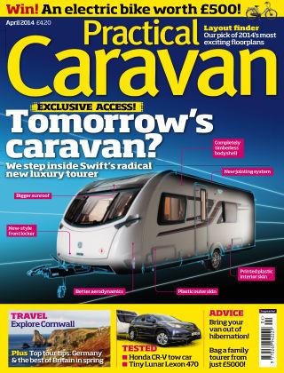 Practical Caravan April 2014