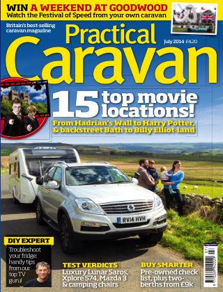 Practical Caravan July 2014