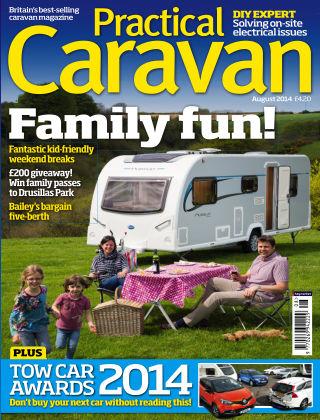 Practical Caravan August 2014