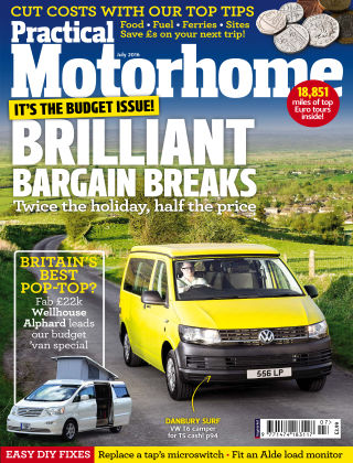 Practical Motorhome July 2016
