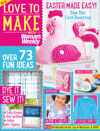 Love To Make with Woman's Weekly April 2015