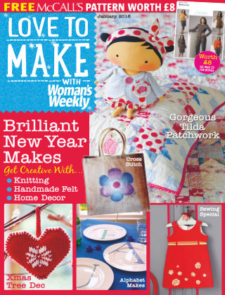 Love To Make with Woman's Weekly Craft (1) 2016