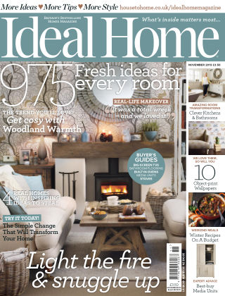Ideal Home November 2013