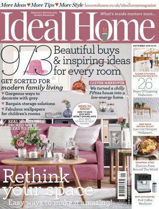 Ideal Home September 2014