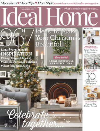 Ideal Home January 2015