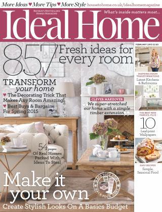 Ideal Home February 2015