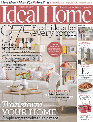Ideal Home March 2015