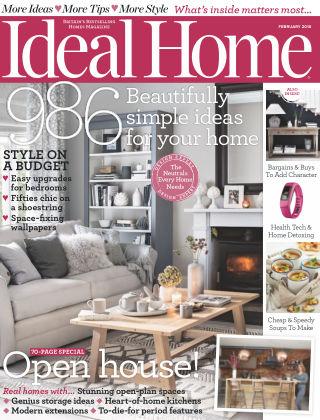 Ideal Home February 2016