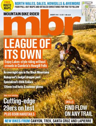 Mountain Bike Rider August 2014