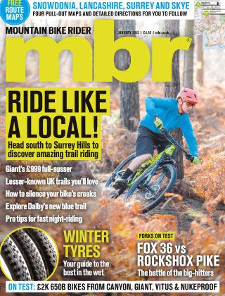 Mountain Bike Rider January 2015