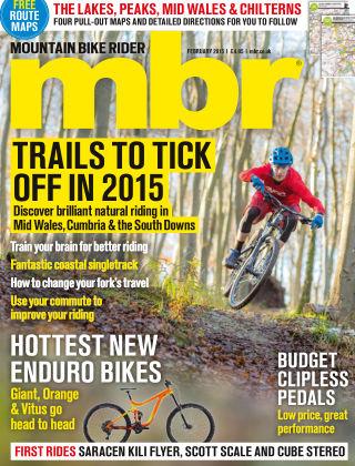 Mountain Bike Rider February 2015