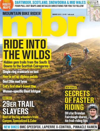 Mountain Bike Rider March 2015